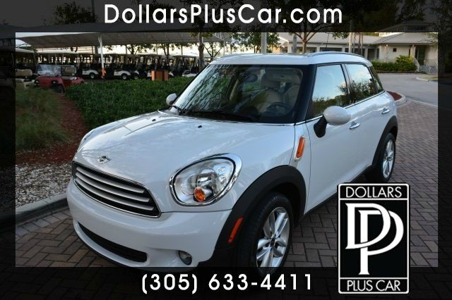 2011 MINI COOPER COUNTRYMAN BASE white g       all of our vehicles have a clean title  gtruly