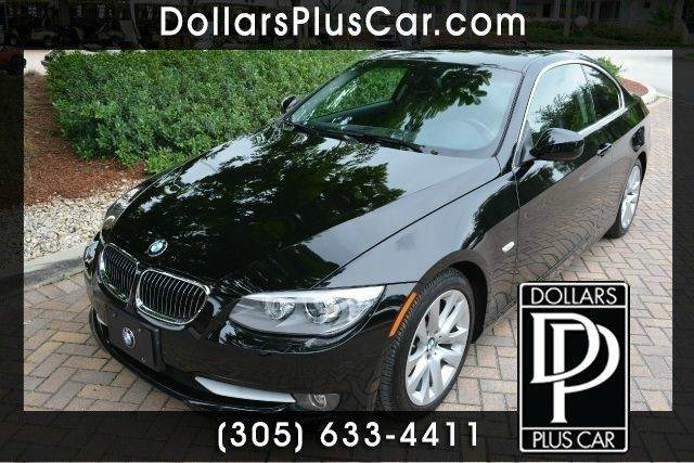 2011 BMW 3 SERIES 328I 2DR COUPE black dollars plus car truly has the best prices   average mark