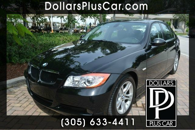 2008 BMW 3 SERIES 328I 4DR SEDAN black dollars plus car truly has the best pri