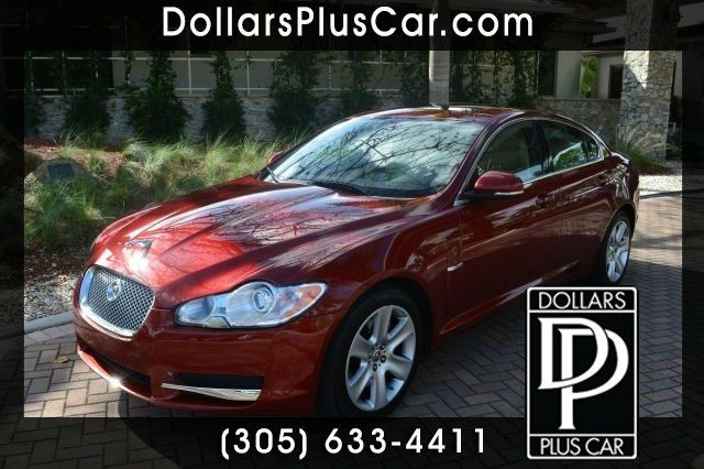 2010 JAGUAR XF LUXURY red dollars plus car truly has the lowest prices   market price for this ja