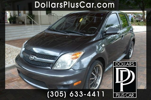 2006 SCION XA BASE 4DR HATCHBACK 15L I4 4A gray dollars plus car truly has the lowest prices