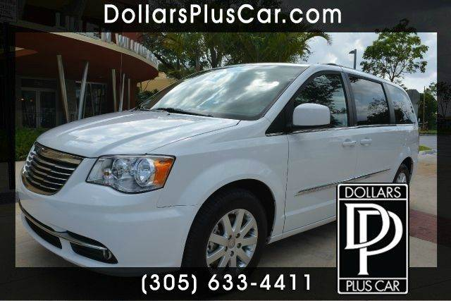2014 CHRYSLER TOWN AND COUNTRY TOURING 4DR MINI VAN white dollars plus car truly has the best car