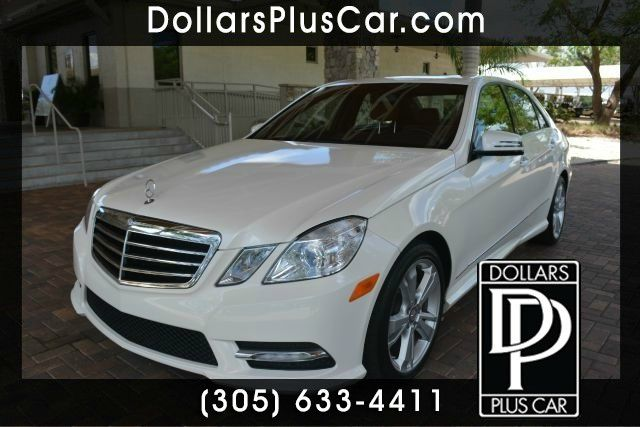 2013 MERCEDES-BENZ E-CLASS E350 SPORT 4DR SEDAN white dollars plus car truly has the best cars an