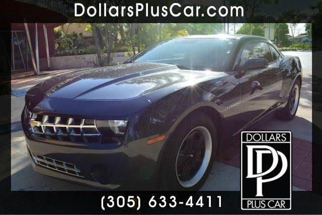2012 CHEVROLET CAMARO LS 2DR COUPE W1LS gray dollars plus car truly has the best prices  market