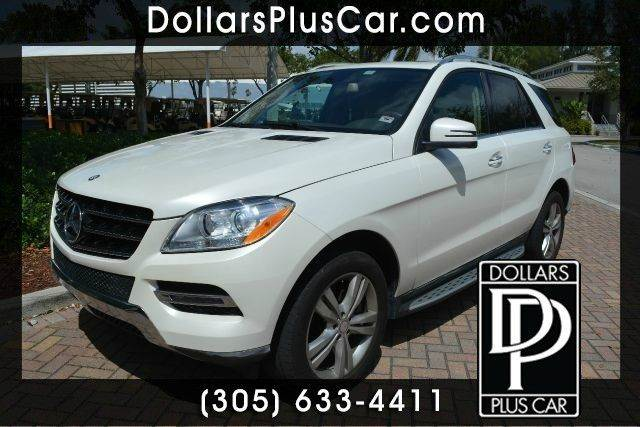 2013 MERCEDES-BENZ M-CLASS ML350 4DR SUV white dollars plus car truly has the best prices     ma