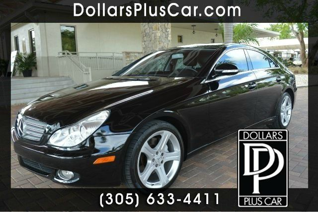 2007 MERCEDES-BENZ CLS-CLASS CLS550 4DR SEDAN black dollars plus car truly has the lowest prices