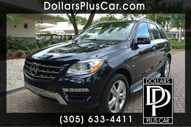 2012 MERCEDES-BENZ M-CLASS ML350 AWD 4MATIC 4DR SUV blue dollars plus car truly has the best price