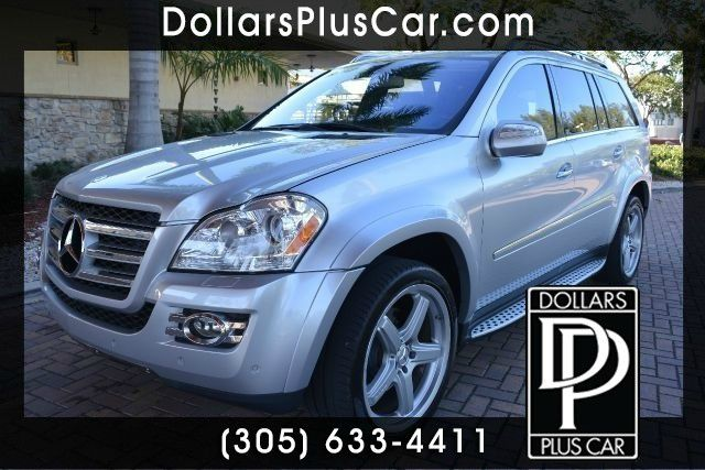 2009 MERCEDES-BENZ GL-CLASS GL550 AWD 4MATIC 4DR SUV silver dollars plus car truly has the best pr
