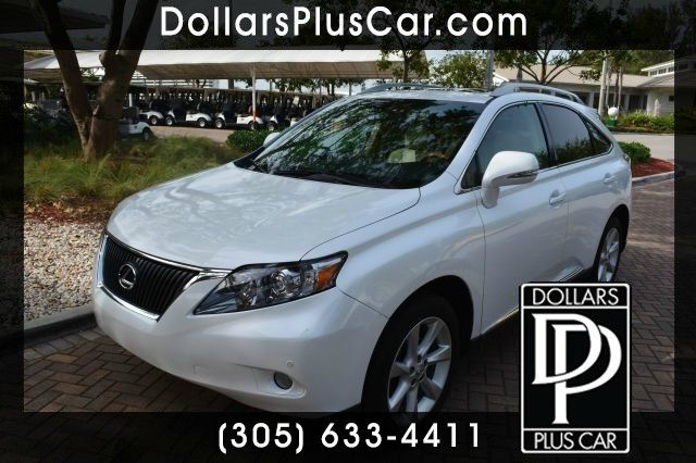 2010 LEXUS RX 350 FWD white dollars plus car truly has the lowest prices   market price for this
