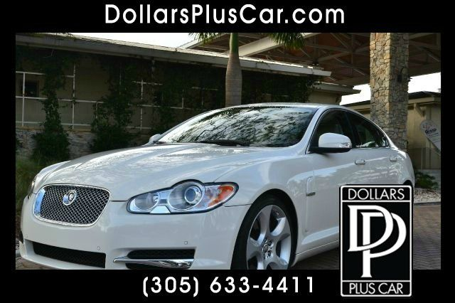 2009 JAGUAR XF SUPERCHARGED white this beautiful jaguar xf supercharge comes equipped a ton of fea
