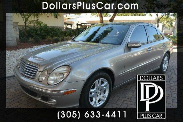 2004 MERCEDES-BENZ E-CLASS E320 4DR SEDAN silver dollars plus car truly has the best prices   av