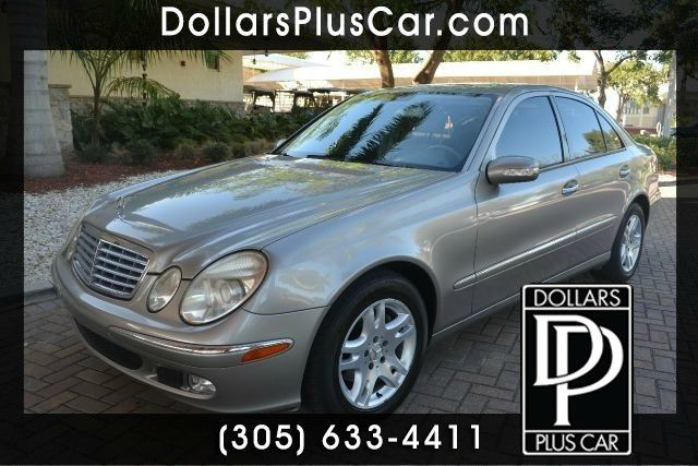 2004 MERCEDES-BENZ E-CLASS E320 4DR SEDAN sand dollars plus car truly has the lowest prices    ou
