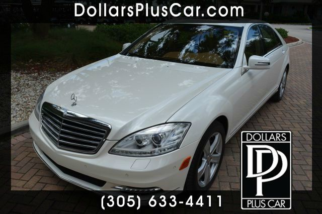 2011 MERCEDES-BENZ S-CLASS S550 4DR SEDAN white dollars plus car truly has the best prices  marke