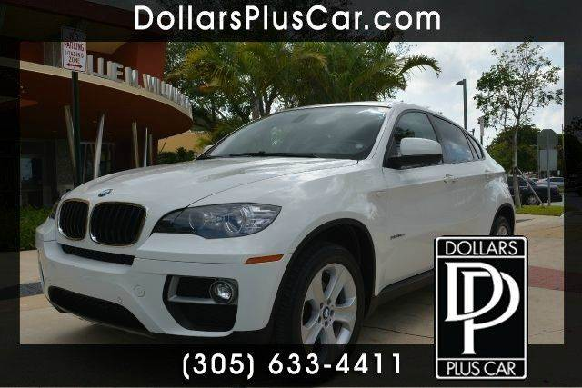 2013 BMW X6 XDRIVE35I AWD 4DR SUV white dollars plus car has the best cars and the best prices