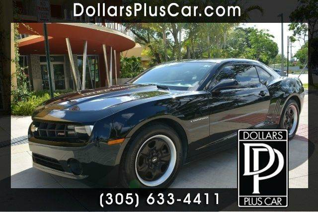 2013 CHEVROLET CAMARO LS 2DR COUPE W2LS black dollars plus car truly has the best prices  marke