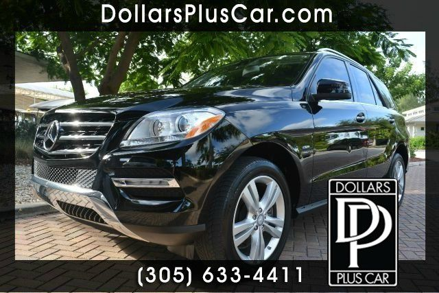 2012 MERCEDES-BENZ M-CLASS ML350 AWD 4MATIC 4DR SUV black dollars plus car truly has the best pric