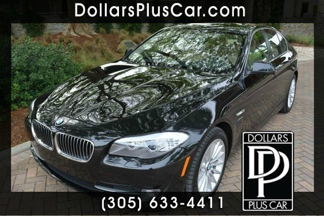 2011 BMW 5 SERIES 535I XDRIVE AWD 4DR SEDAN black dollars plus car truly has t
