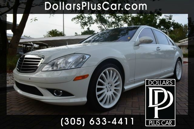 2008 MERCEDES-BENZ S-CLASS S550 white dollars plus car truly has the best prices  market price fo