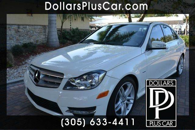 2012 MERCEDES-BENZ C-CLASS C250 SPORTS 4DR SEDAN white dollars plus car truly has the lowest pric