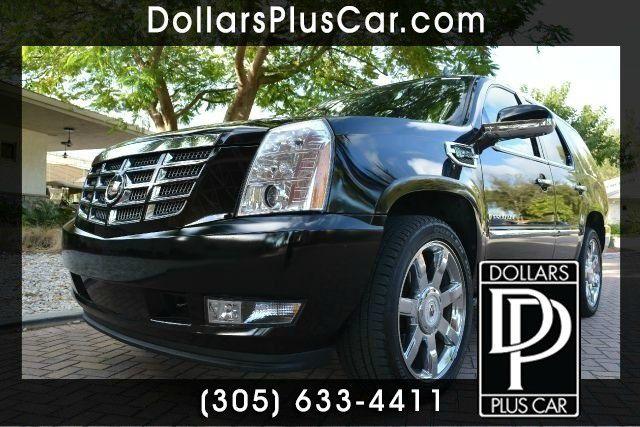 2009 CADILLAC ESCALADE HYBRID BASE 4DR HYBRID SUV black dollars plus car truly has the best prices