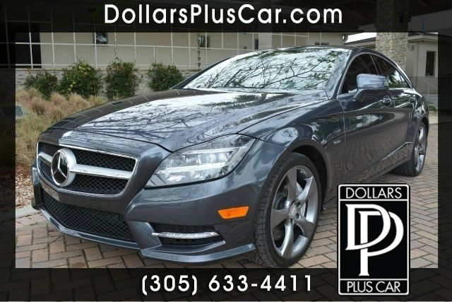 2012 MERCEDES-BENZ CLS-CLASS CLS550 4MATIC AWD 4DR SEDAN gray dollars plus car truly has the lowes