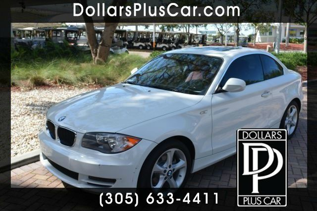 2011 BMW 1 SERIES 128I COUPE white gtruly the best prices on the market  gcustomer satisfactio