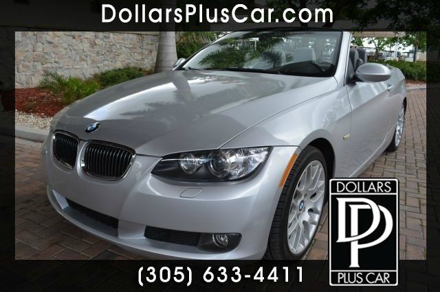 2008 BMW 3 SERIES 328I 2DR CONVERTIBLE silver our price for this bmw 328i 19999   this vehicle