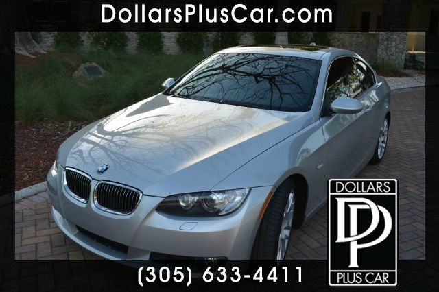 2008 BMW 3 SERIES 328I COUPE silver dollars plus car truly has the best prices   average market p