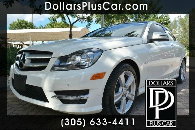 2012 MERCEDES-BENZ C-CLASS C250 2DR COUPE white dollars plus car truly has the lowest prices   m