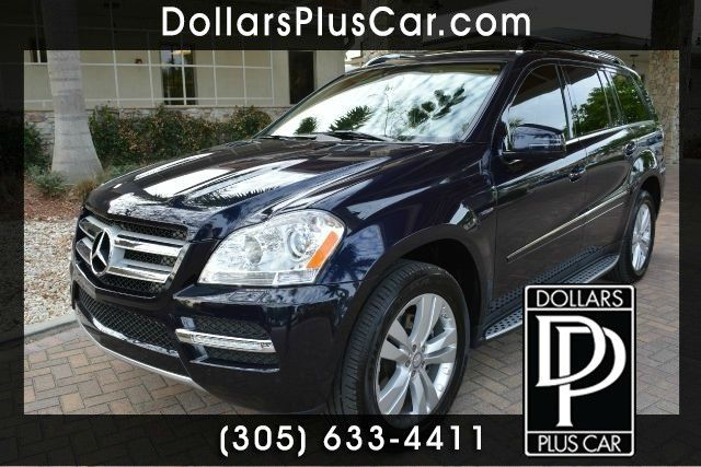 2012 MERCEDES-BENZ GL-CLASS GL350 BLUETEC AWD 4MATIC 4DR SUV blue dollars plus car truly has the b