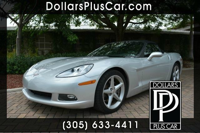 2013 CHEVROLET CORVETTE BASE 2DR CONVERTIBLE W1LT silver dollars plus car truly has the best pric