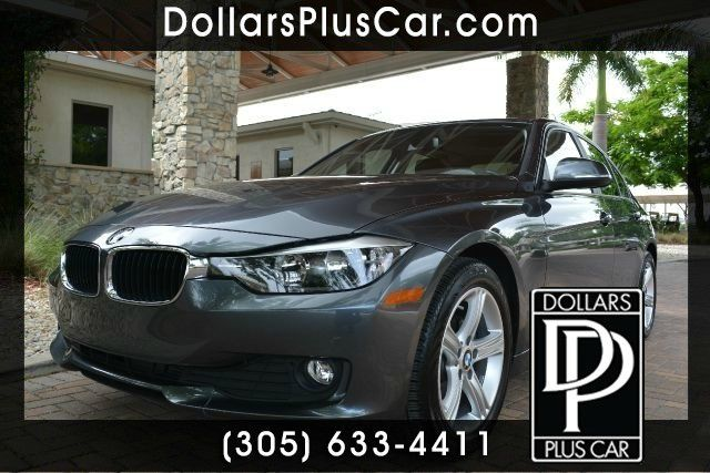 2014 BMW 3 SERIES 320I 4DR SEDAN gray dollars plus car truly has the best prices   average market