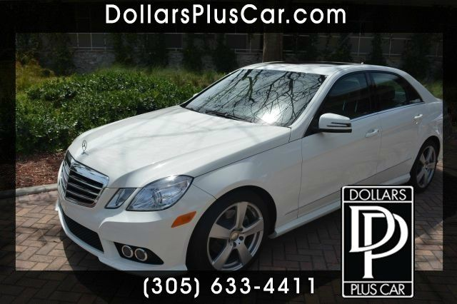 2010 MERCEDES-BENZ E-CLASS E350 SEDAN white dollars plus car truly has the best prices    market