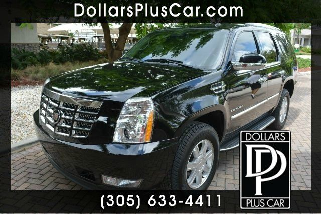 2011 CADILLAC ESCALADE BASE 4DR SUV black dollars plus car truly has the best