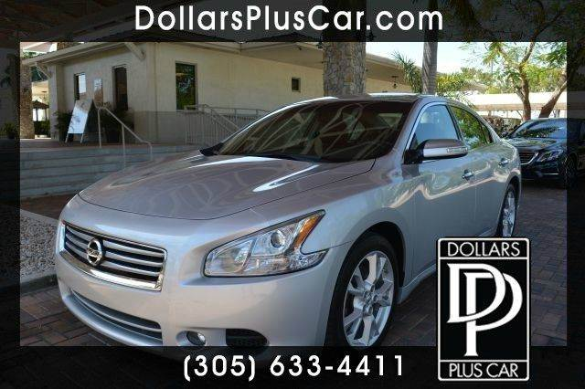 2012 NISSAN MAXIMA 35 SV 4DR SEDAN silver dollars plus car truly has the best cars and the best