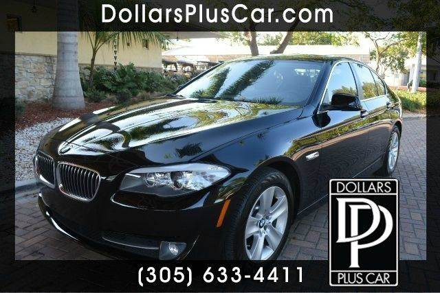 2013 BMW 5 SERIES 528I 4DR SEDAN black dollars plus car truly has the best prices   average mark