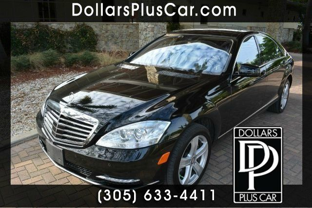 2013 MERCEDES-BENZ S-CLASS S550 4MATIC AWD 4DR SEDAN black dollars plus car truly has the best pr