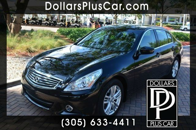 2011 INFINITI G25 G25 black dollars plus car truly has the lowest prices   market price for this