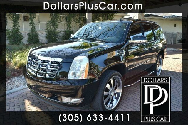 2007 CADILLAC ESCALADE BASE AWD 4DR SUV black dollars plus car truly has the best prices  market