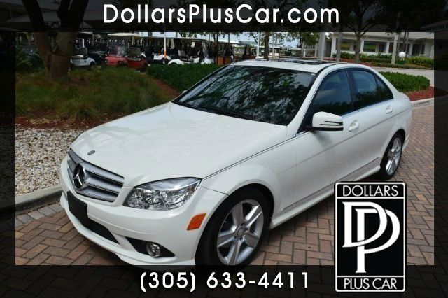 2010 MERCEDES-BENZ C-CLASS C300 SPORT SEDAN white g       all of our vehicles have a clean title