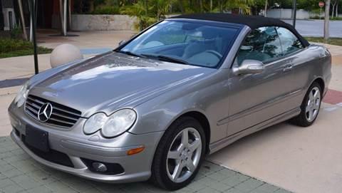2005 Mercedes-Benz CLK for sale in Miami, FL