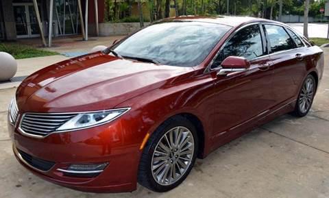 2014 Lincoln MKZ for sale in Miami, FL