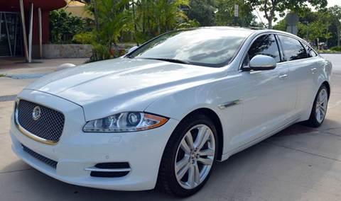 2013 Jaguar XJL for sale in Miami, FL