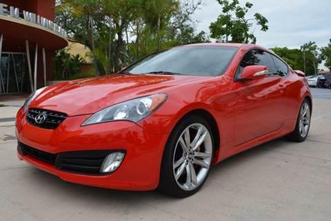 2012 Hyundai Genesis Coupe for sale in Miami, FL