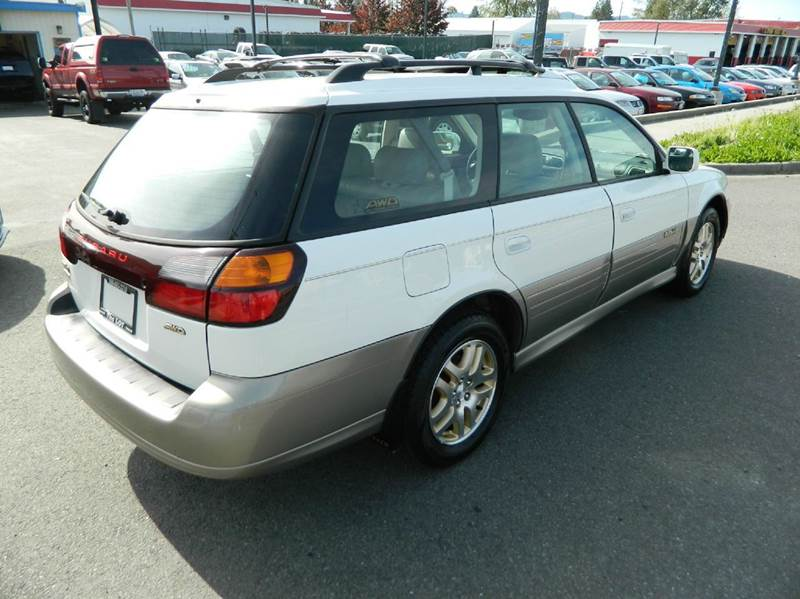 2000 subaru outback limited awd 4dr wagon in monroe wa. Black Bedroom Furniture Sets. Home Design Ideas