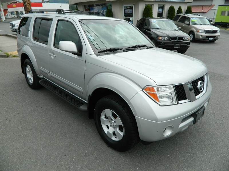 2005 nissan pathfinder se 4wd 4dr suv in monroe wa the lot. Black Bedroom Furniture Sets. Home Design Ideas