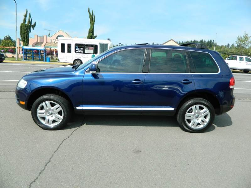2004 volkswagen touareg v8 awd 4dr suv in monroe wa the lot. Black Bedroom Furniture Sets. Home Design Ideas