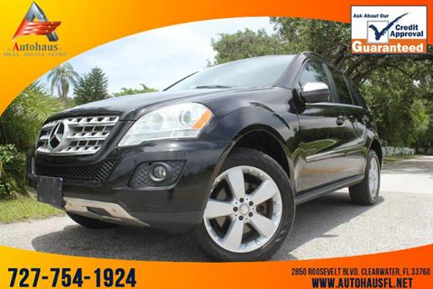 2010 Mercedes-Benz M-Class for sale in Clearwater, FL