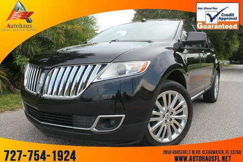 2011 Lincoln MKX for sale in Clearwater, FL