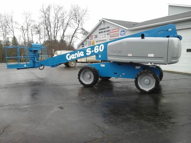 2005 Genie S-60 4X4 - Bath NY
